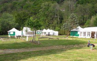 camping Amestoya à Bidarray, vallée de la Nive au Pays Basque